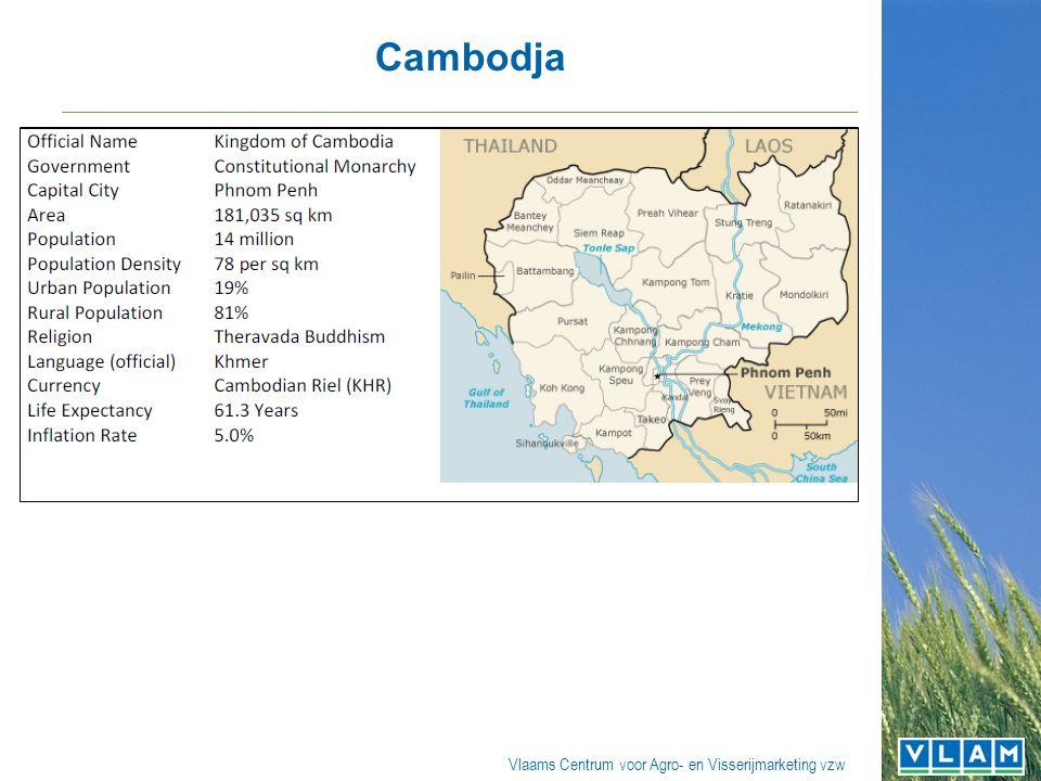 Vlaams Centrum voor Agro- en Visserijmarketing vzw Cambodja