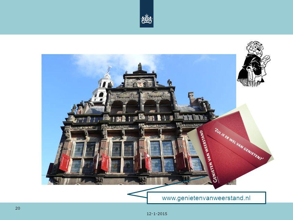 12-1-2015 20 www.genietenvanweerstand.nl