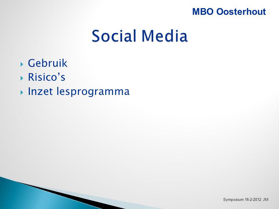 MBO Oosterhout Symposium 16-2-2012 JM
