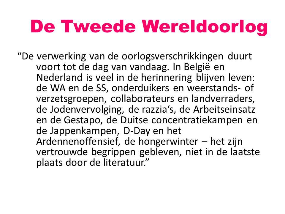 Literatuur in WOII NL: de Kultuurkamer Verzetsliteratuur
