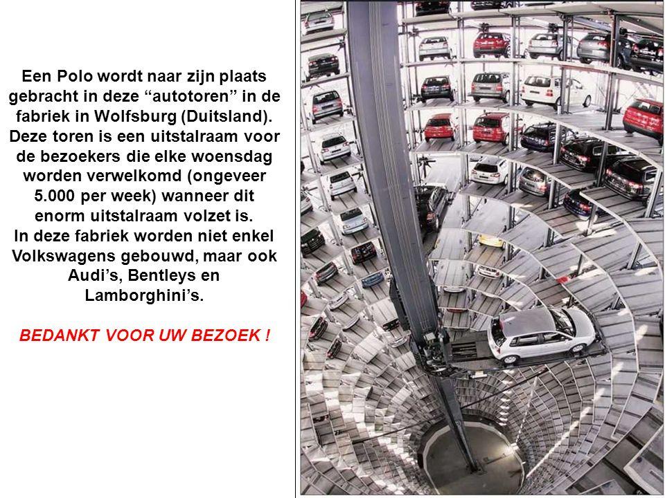 De afgewerkte auto's moeten een plaatsje krijgen...