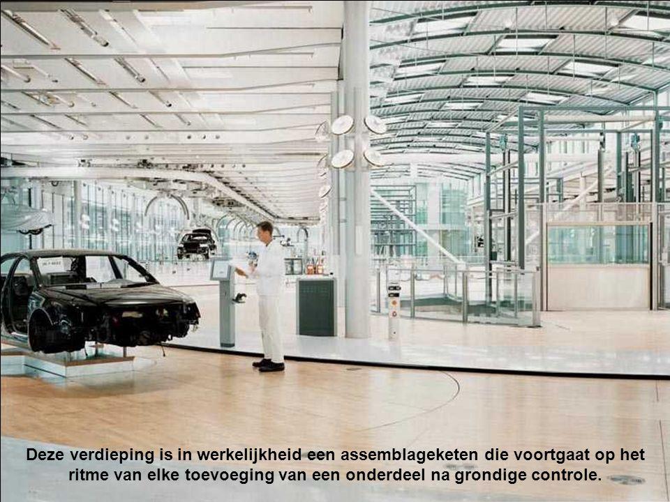 Geautomatiseerde zone. Elke auto wordt op een gepersonaliseerde manier bewerkt en elke technieker beschikt over een hoogtechnologische uitrusting.