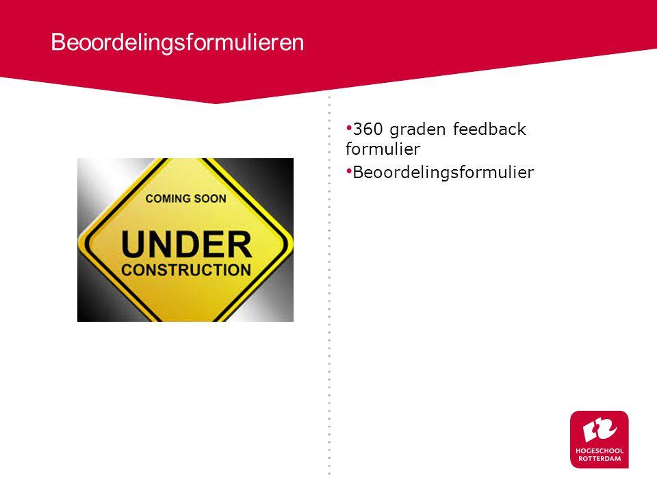 360 graden feedback formulier Beoordelingsformulier Beoordelingsformulieren