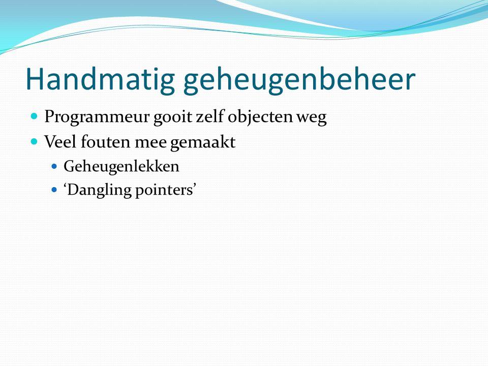 Geheugenlek Object C Object AObject B