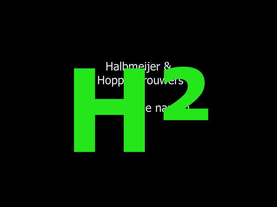 Halbmeijer & Hoppenbrouwers …onthoudt die namen… H²H²