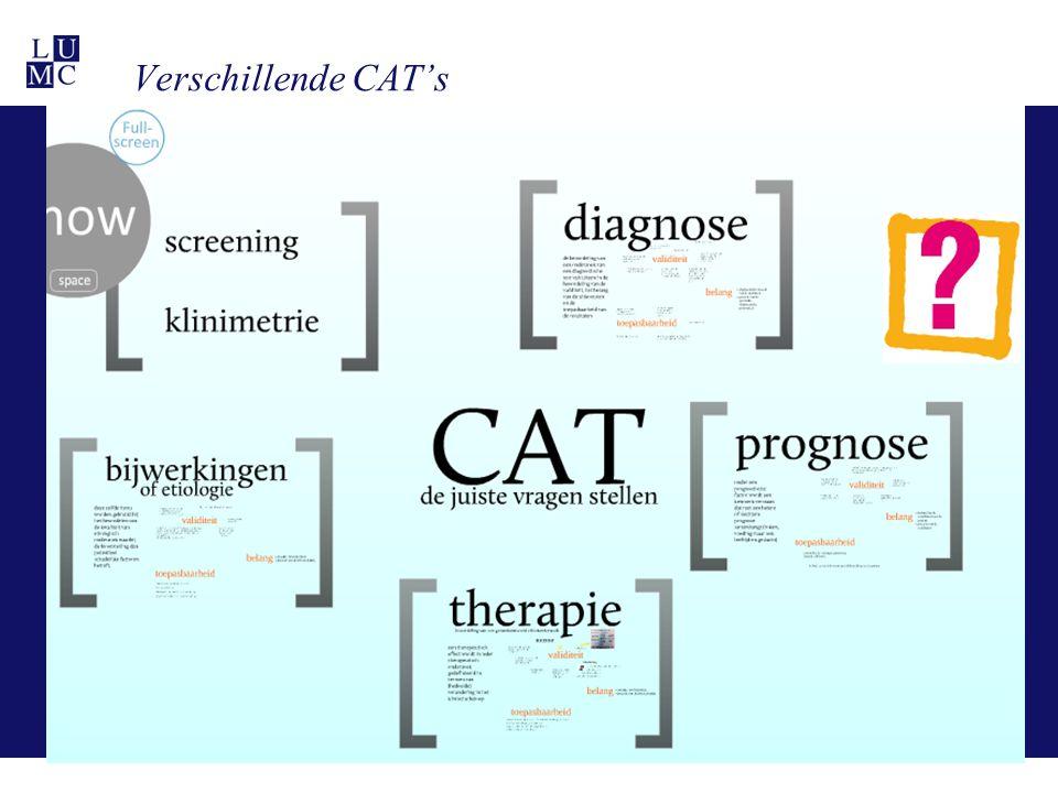 Verschillende CAT's