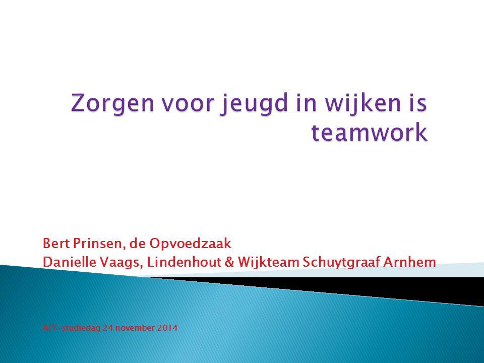 Bert Prinsen, de Opvoedzaak Danielle Vaags, Lindenhout & Wijkteam Schuytgraaf Arnhem AIT-studiedag 24 november 2014