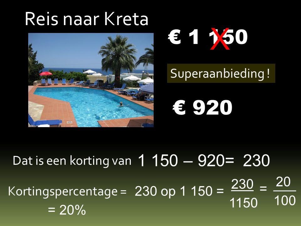 Reis naar Kreta € 1 150 Superaanbieding .