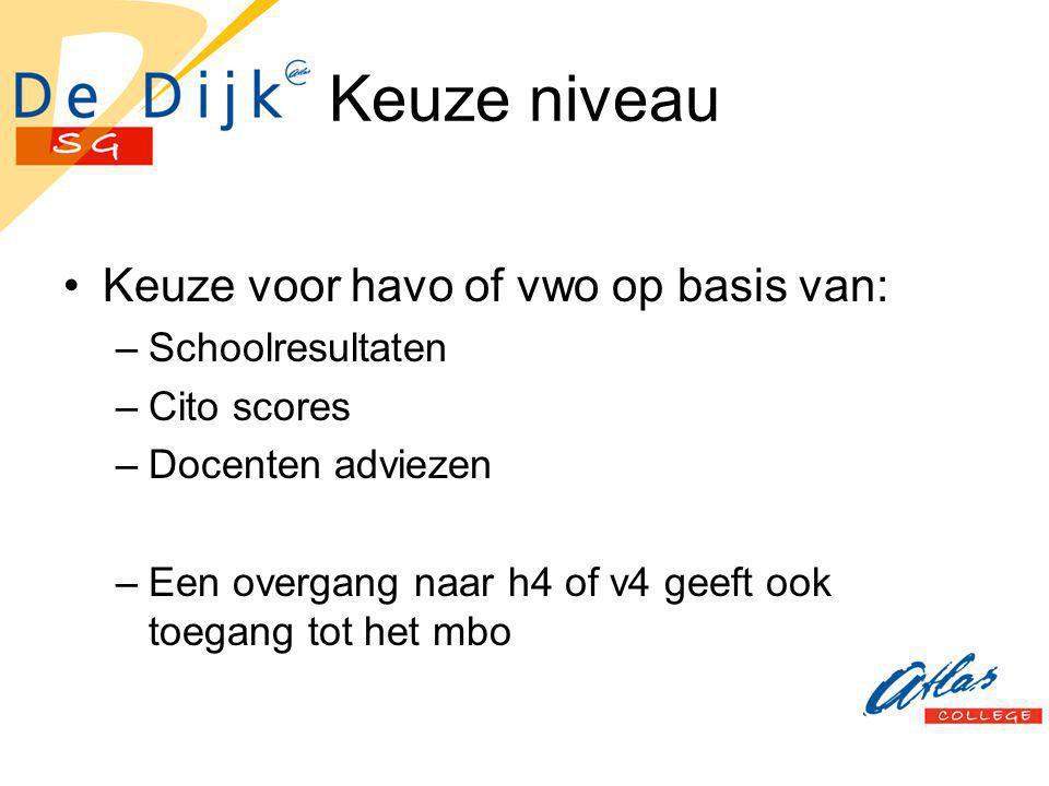 Profiel Voor 2002 vrije keuze voor examenvakken.Nu verplichte profielen.