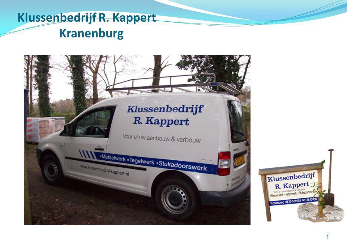 Klussenbedrijf R. Kappert Kranenburg 1