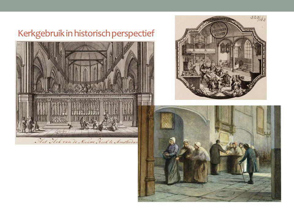 Kerkgebruik in historisch perspectief