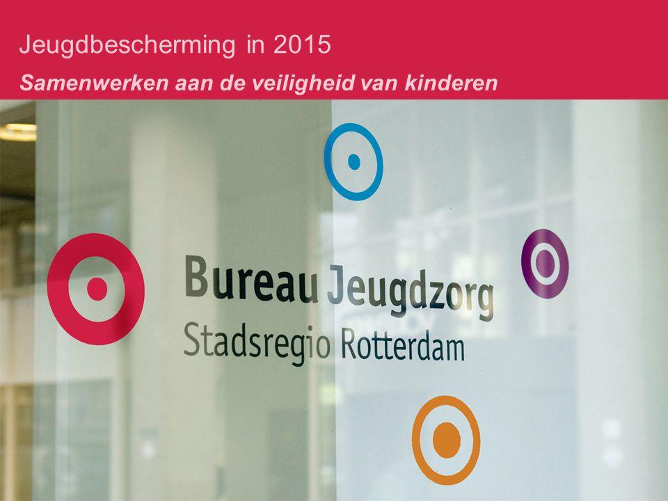 Jeugdbescherming in 2015 Samenwerken aan de veiligheid van kinderen