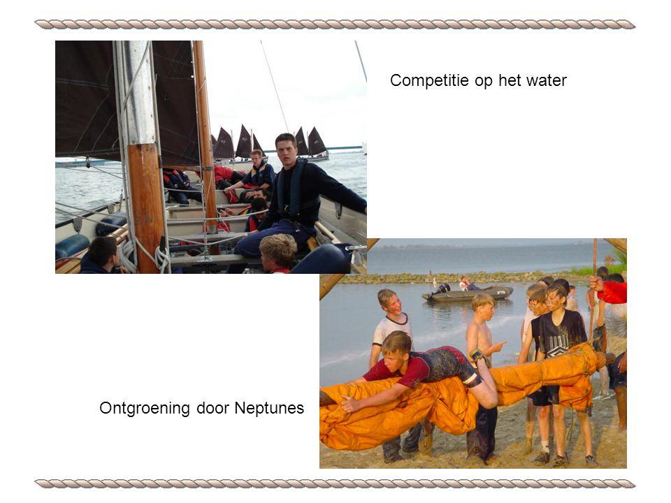 Ontgroening door Neptunes Competitie op het water