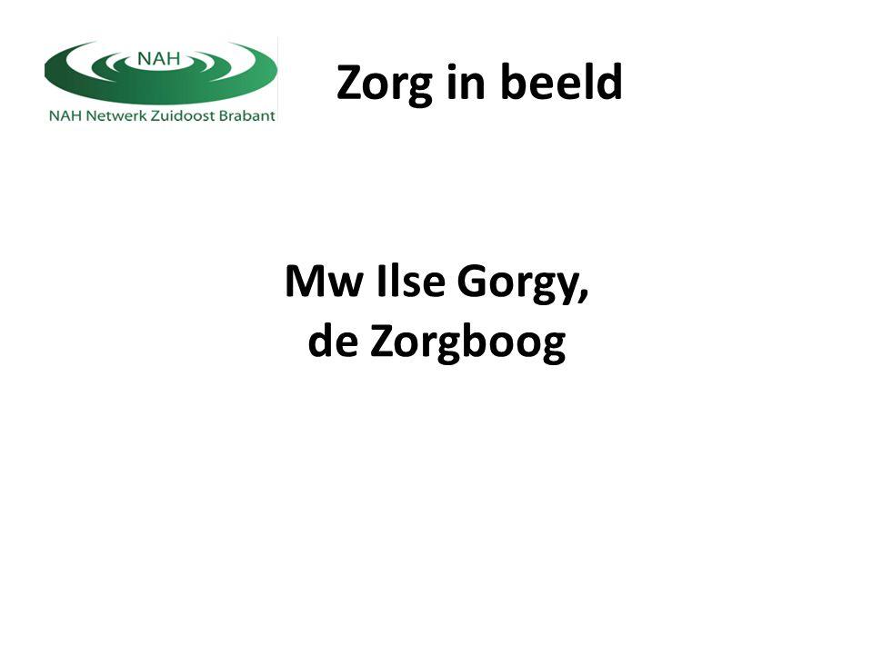 Zorg in beeld Mw Ilse Gorgy, de Zorgboog