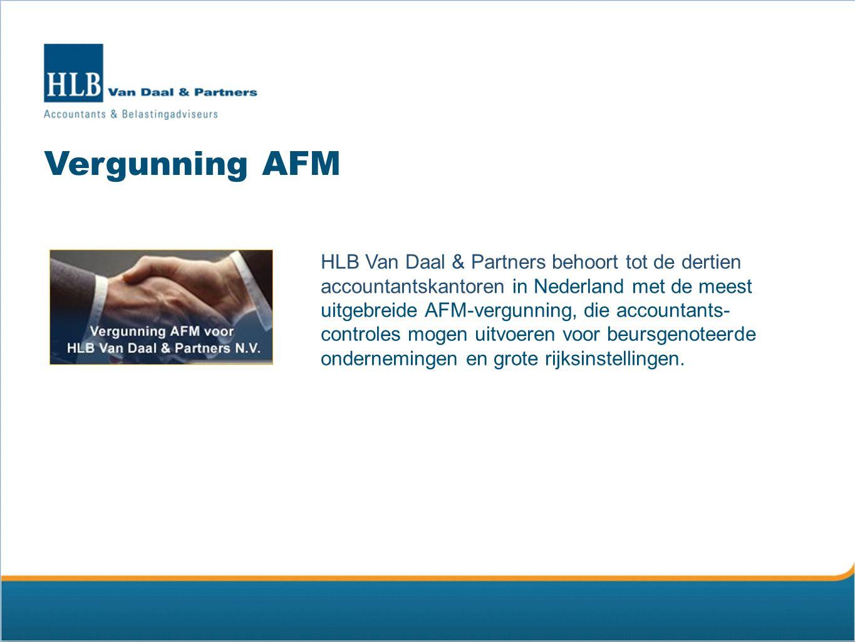 HLB Nederland HLB Van Daal & Partners is lid van HLB Nederland Accountants & Consultants, een samenwerkingsverband van 4 zelfstandige accountantskantoren in Nederland met in totaal 16 vestigingen: HLB Nannen HLB Den Hartog HLB Van Daal & Partners HLB Kallen Raeven
