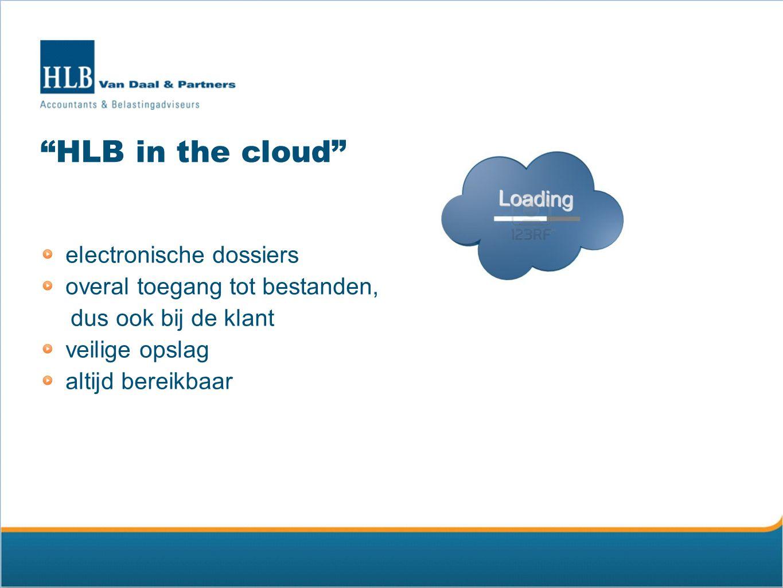 Online activiteiten website www.hlb-van-daal.nl Twitter @HLBVDP YouTube HLBVanDaal LinkedIn HLB Van Daal & Partners