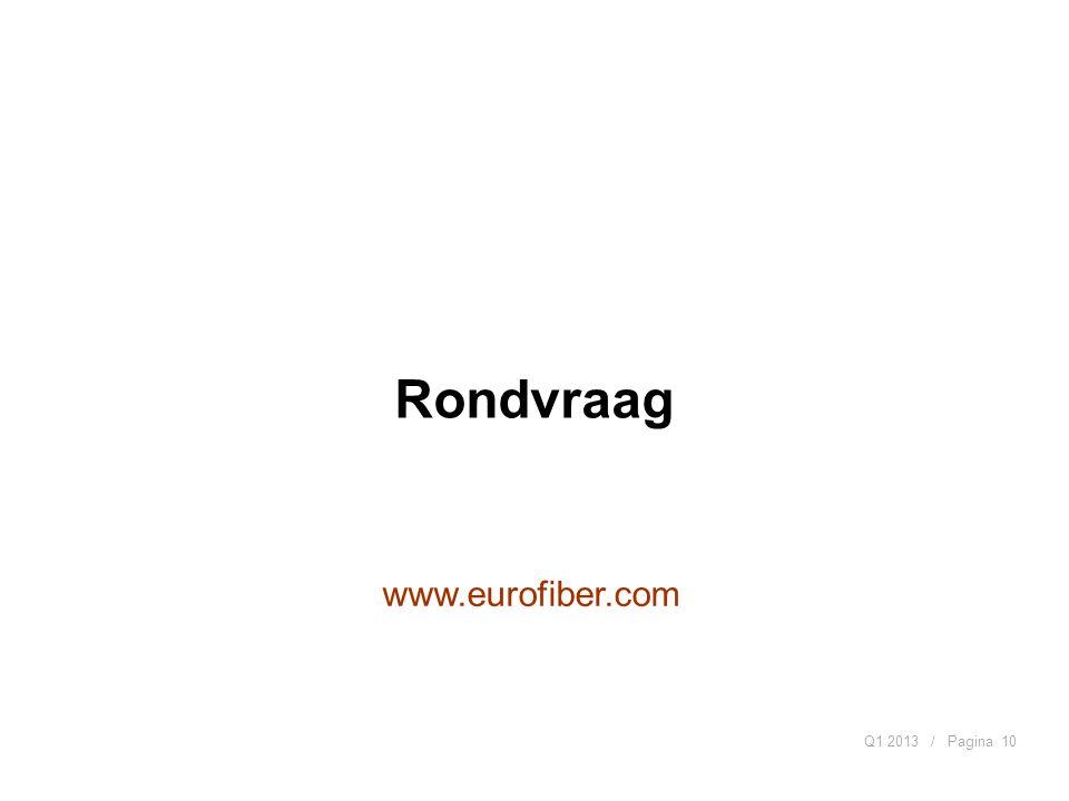 / PaginaQ1 201310 www.eurofiber.com Rondvraag