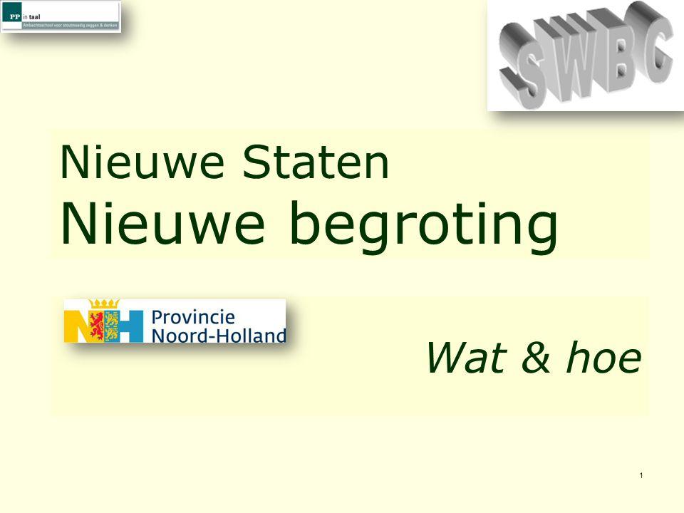 © PP in taal 32 Op de SWBC-webpagina kunt u deze presentatie herbeleven: http://www.ppintaal.nl/programmabegrotingnh/