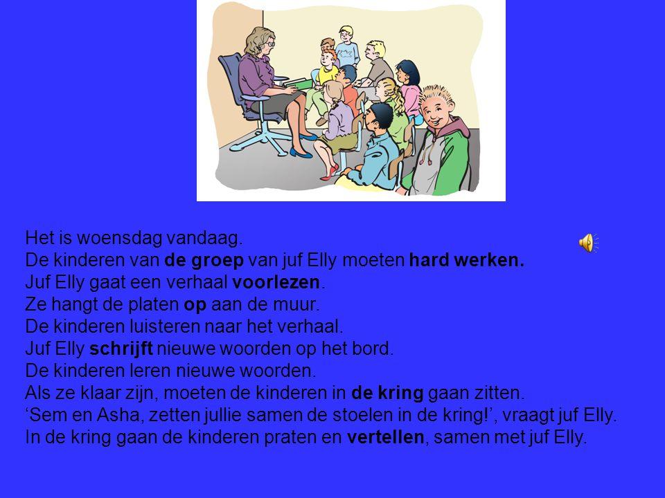 Mondeling Nederlands nieuw cursus 2 Het verhaal:Bas wil heel graag gymmen.