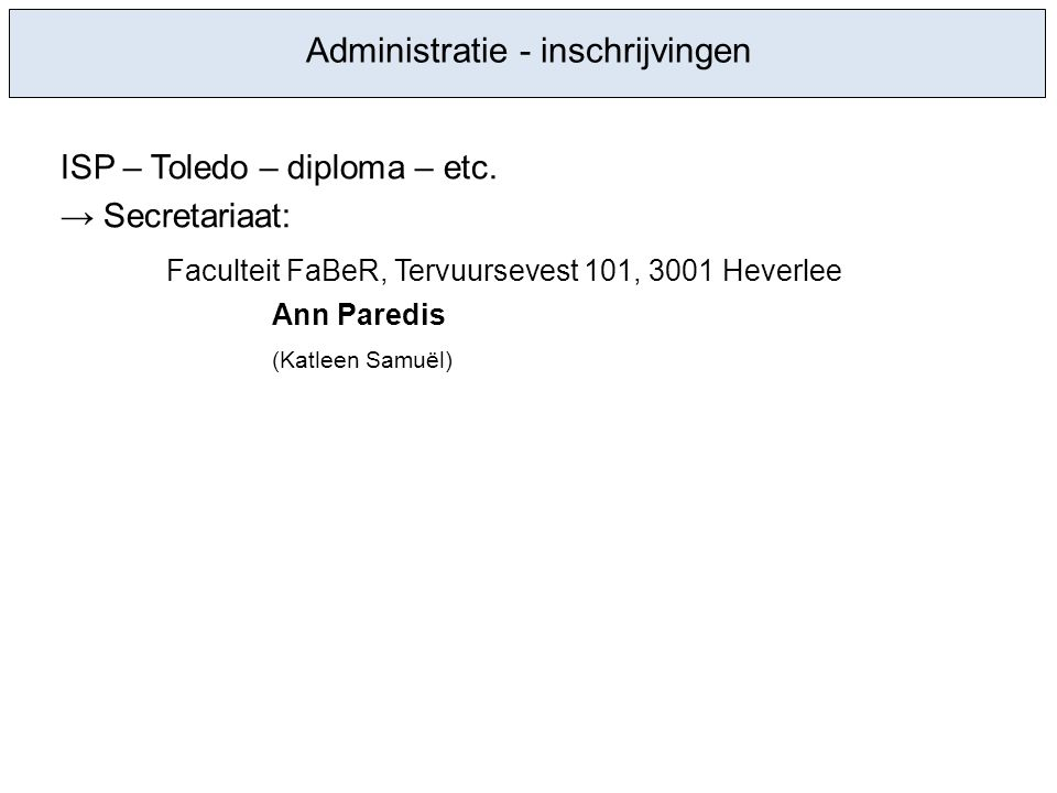 ISP – Toledo – diploma – etc.