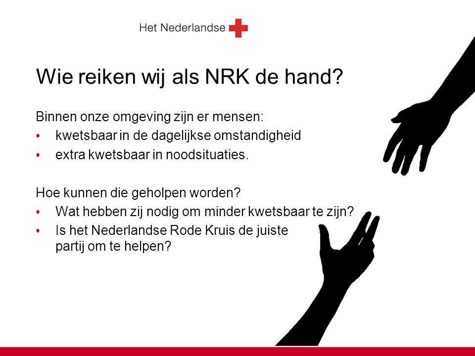 Wie reiken wij als NRK de hand.