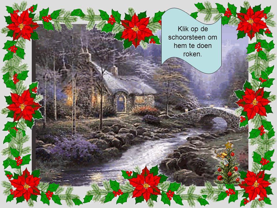 We krijgen een kerstlied te horen.