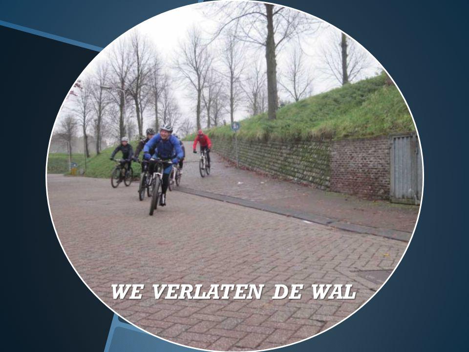 WE VERLATEN DE WAL