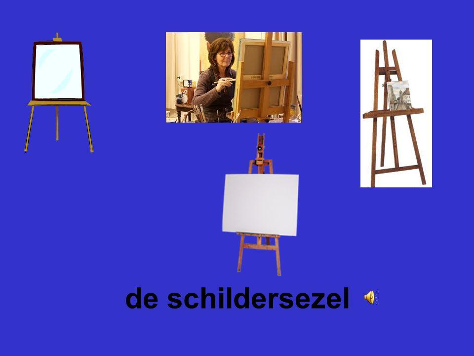 het schildersdoek