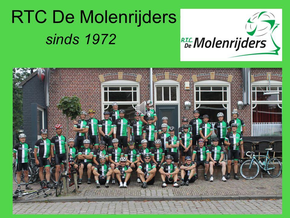Historie Initiatiefnemer 1971: –Jac Potters – Molenaar van molen 'De Arend' Oprichting RTC De Molenrijders –9 mei1972.