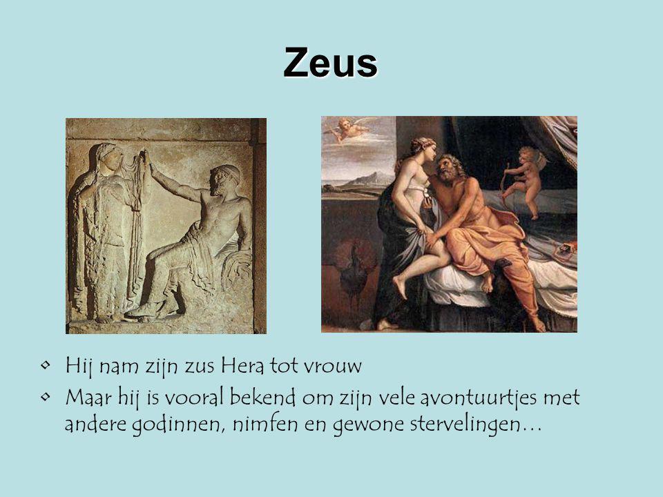 Aphrodite De wellust van de satyrs was van een andere orde dan de liefde waarover Aphrodite waakte, hoewel ze ook de prostituees beschermde Ze was tevens de godin van de schoonheid Maar aan haar geboorteverhaal zit een niet zo mooi tintje