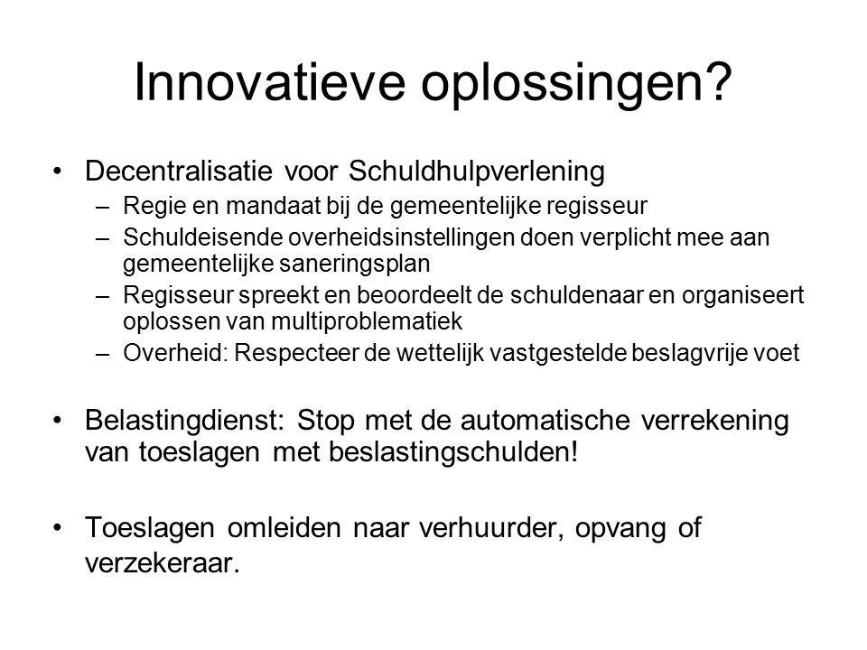 Innovatieve oplossingen.