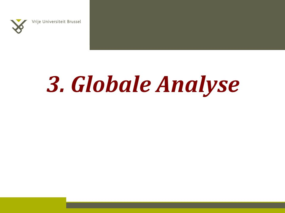 3. Globale Analyse