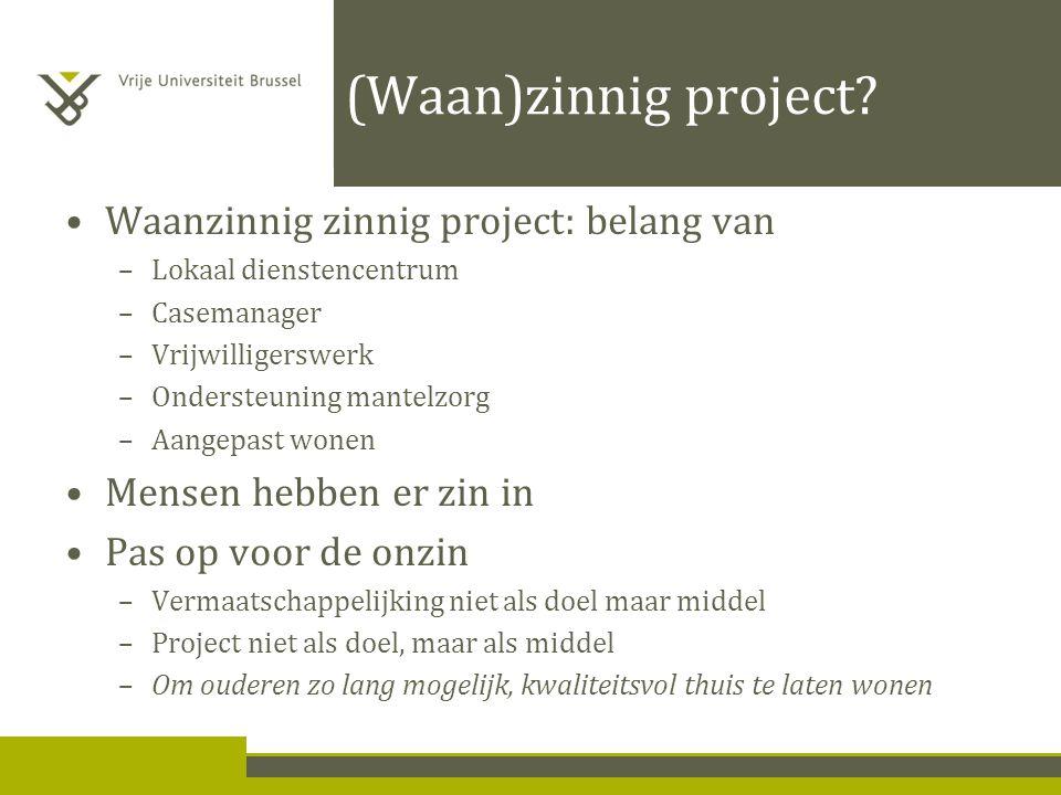 (Waan)zinnig project.