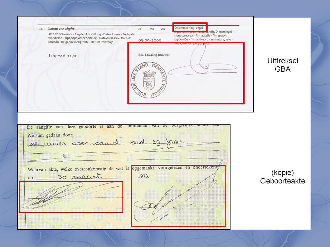 Uittreksel GBA (kopie) Geboorteakte