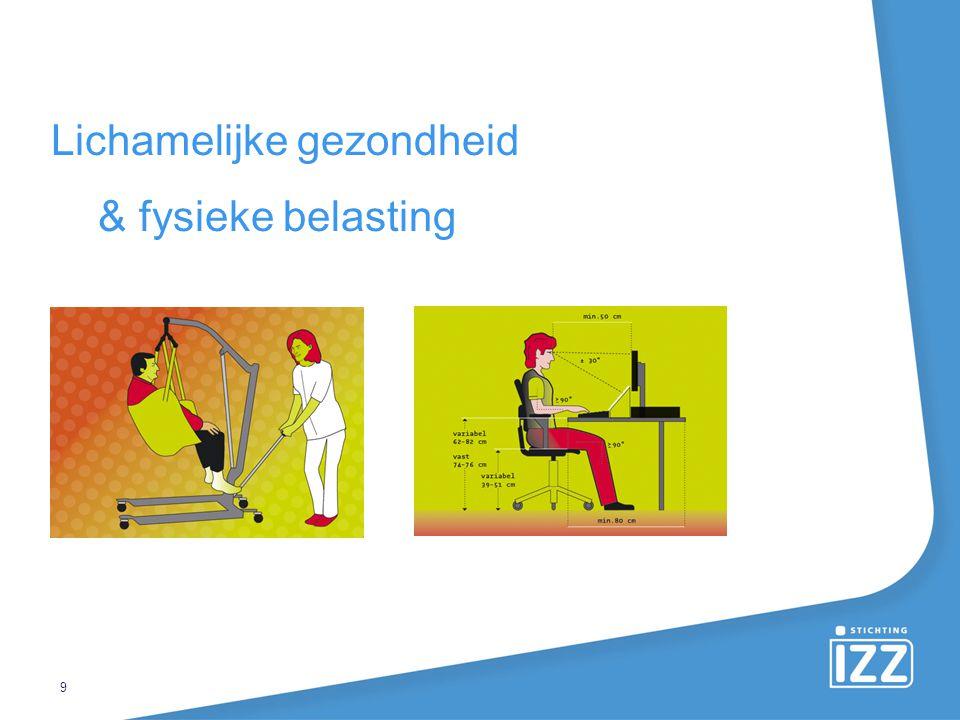 Lichamelijke gezondheid & fysieke belasting 9