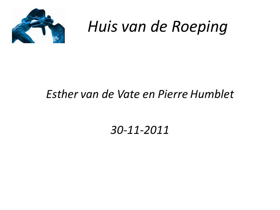 Esther van de Vate en Pierre Humblet 30-11-2011