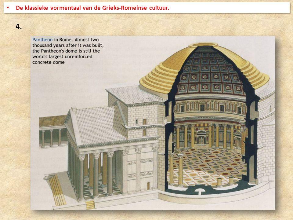 4. De klassieke vormentaal van de Grieks-Romeinse cultuur.