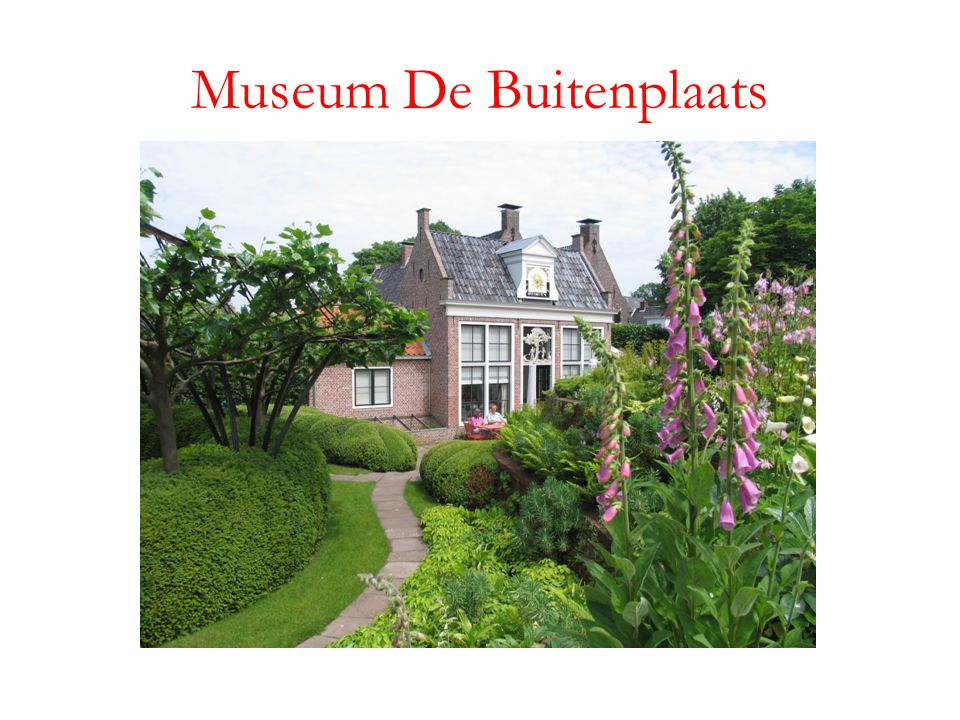 Museum De Buitenplaats