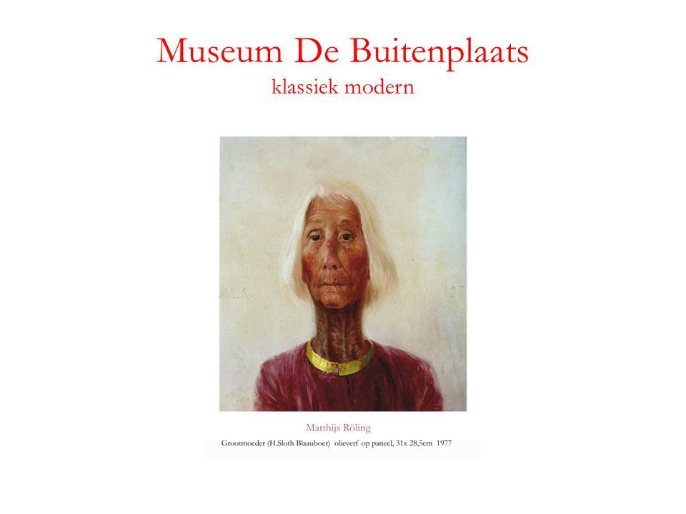 Museum De Buitenplaats klassiek modern