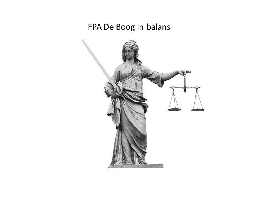 FPA De Boog in balans