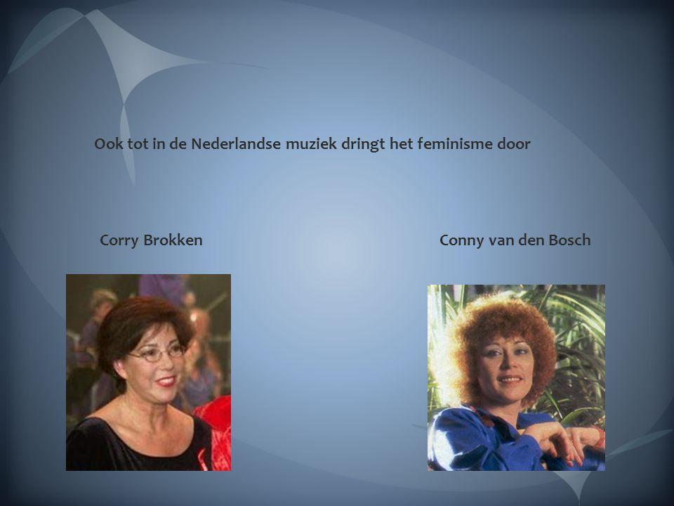 In Nederland komen de vrouwenorganisaties als paddestoelen uit de grond gerezen : de MVM, de Dolle Mina's de BOM groep en tenslotte last but not least