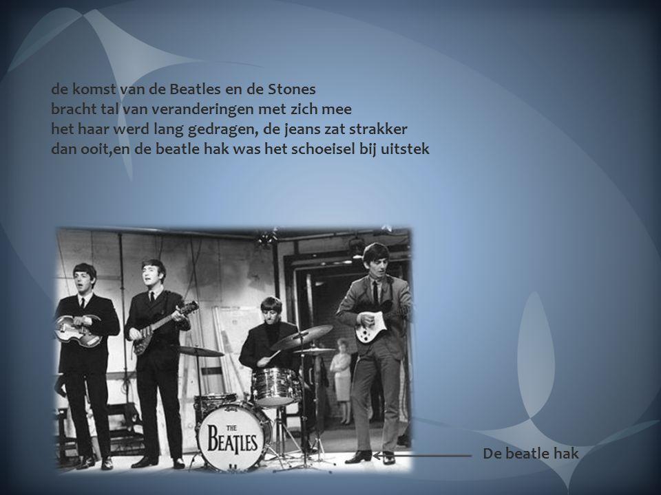 Begin jaren 60 stond de wereld op zijn kop een nieuwe bedreiging van de gevestigde orde kwam er aan met de komst van deze langharigen The Beatles The