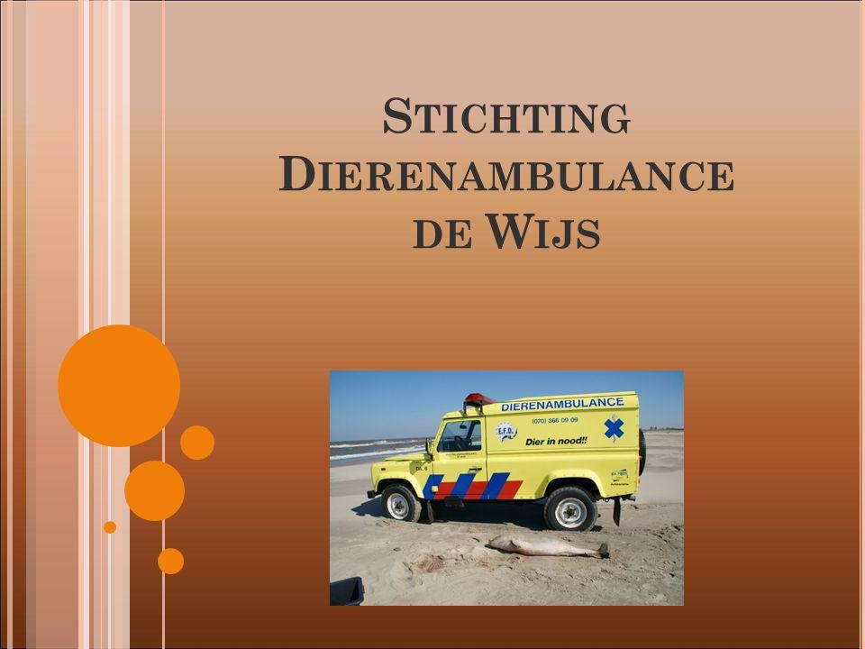 S TICHTING D IERENAMBULANCE DE W IJS