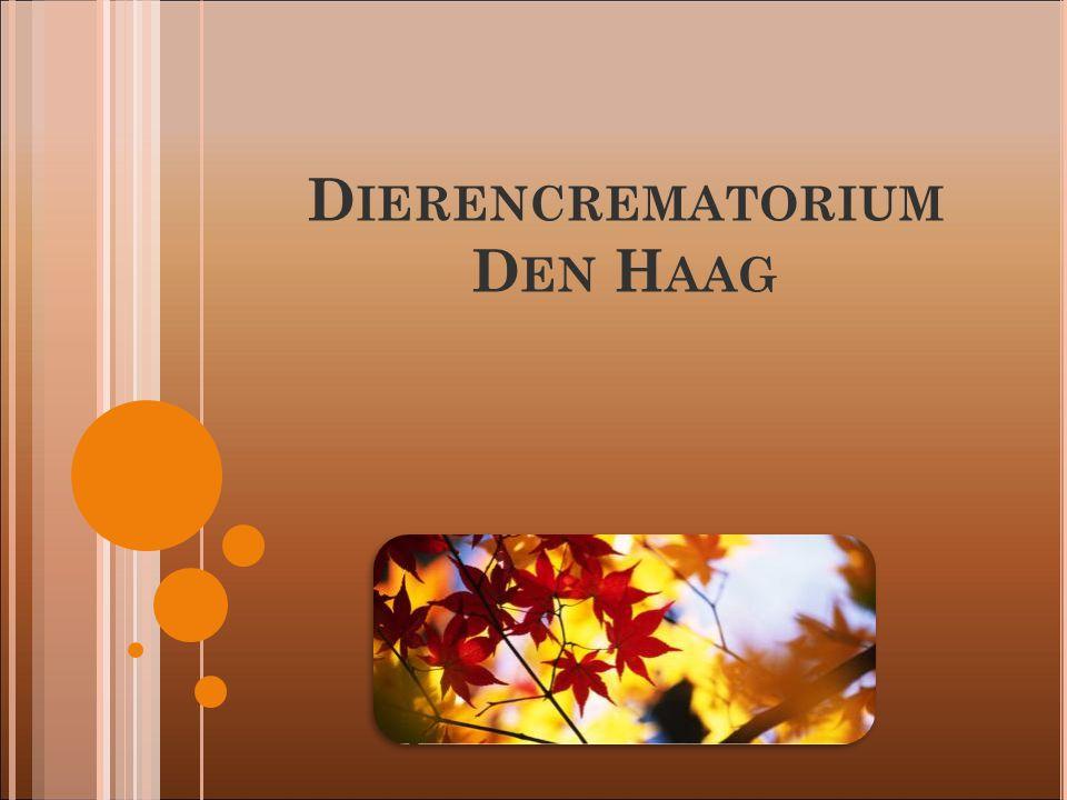 D IERENCREMATORIUM D EN H AAG