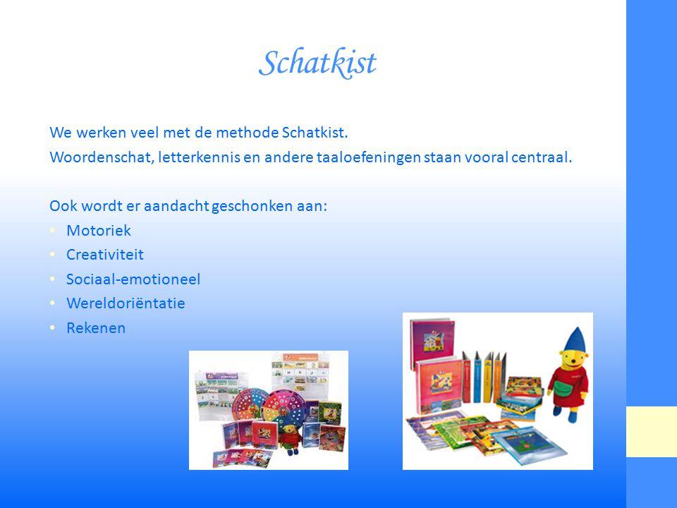 Vervolg schatkist Hoe wordt Schatkist gebruikt in de klas.