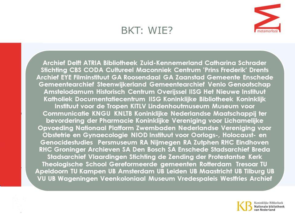 BKT: WIE.