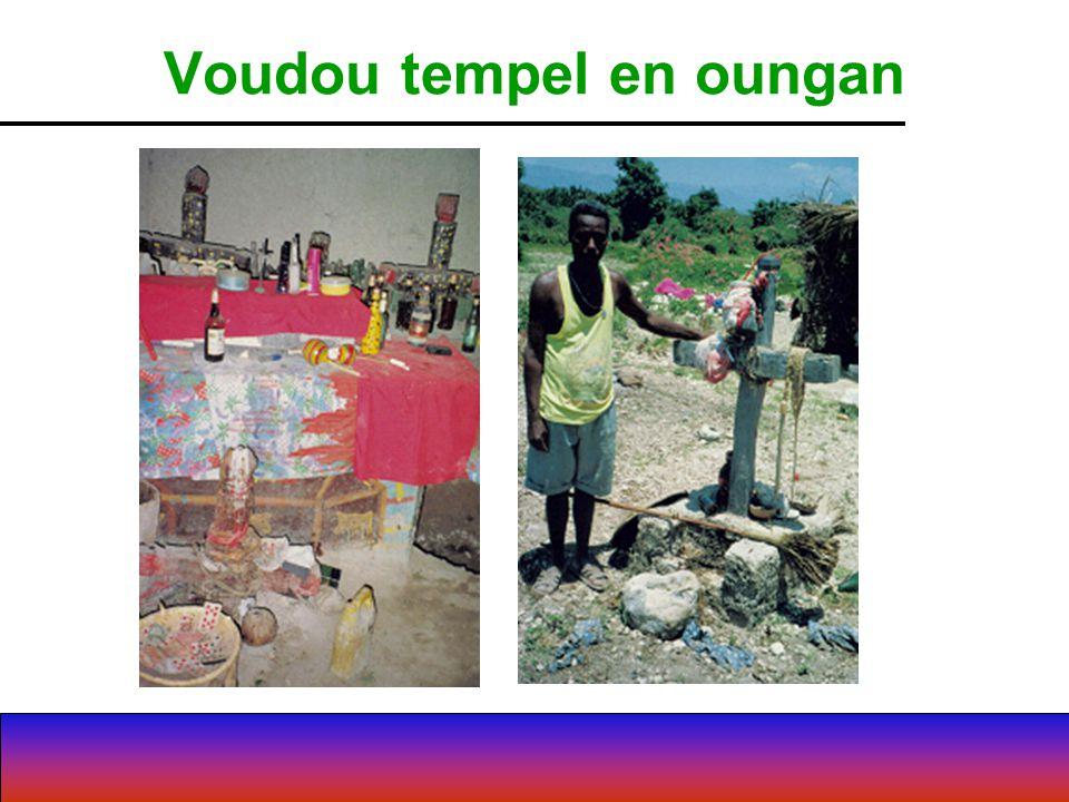 Voudou tempel en oungan