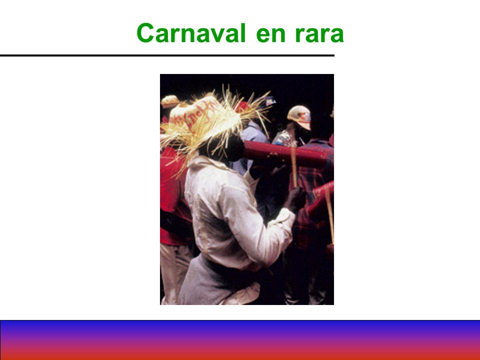 Carnaval en rara