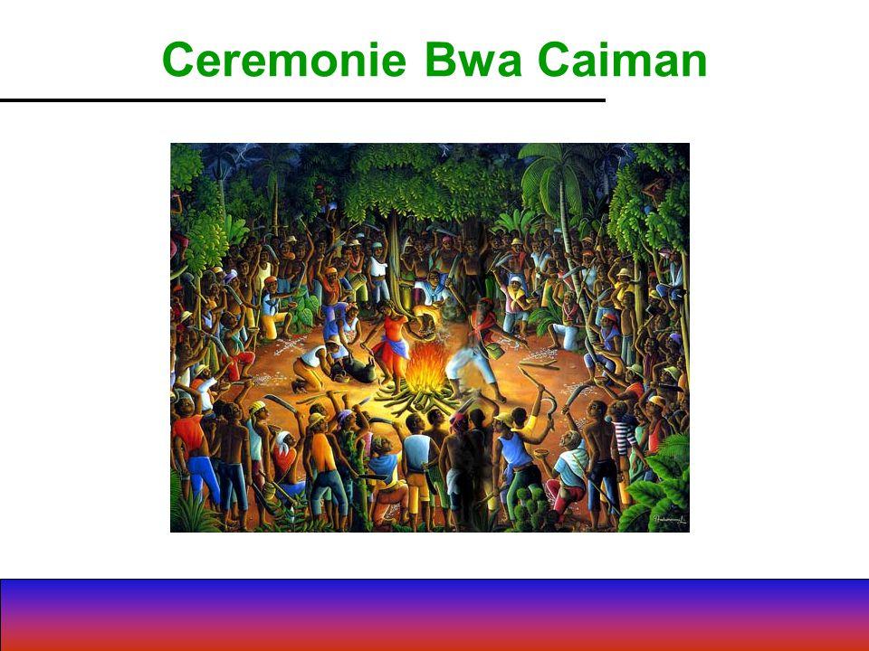 Ceremonie Bwa Caiman