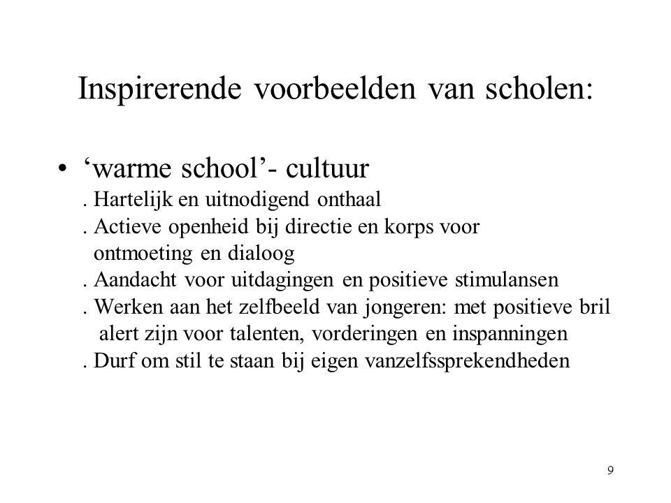 9 Inspirerende voorbeelden van scholen: 'warme school'- cultuur.